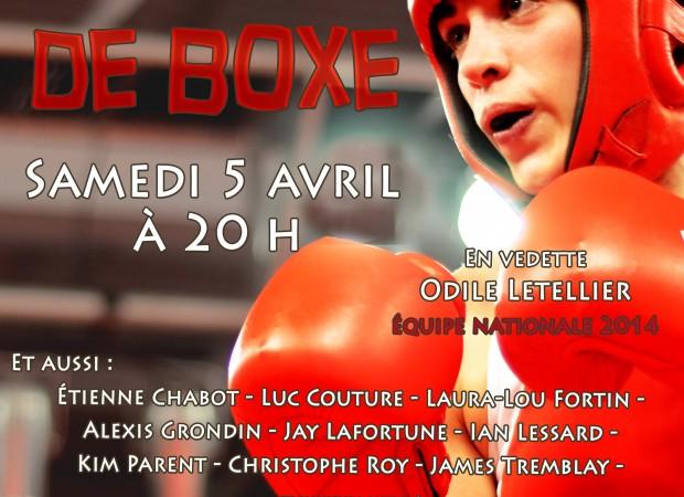Gala de boxe Lévis