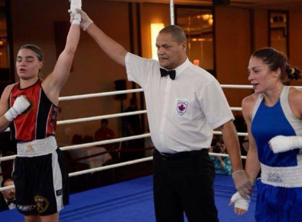 Odile s'incline en finale des sélections nationales de boxe